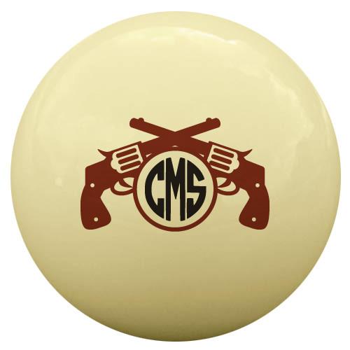 Cowboy Cue Ball