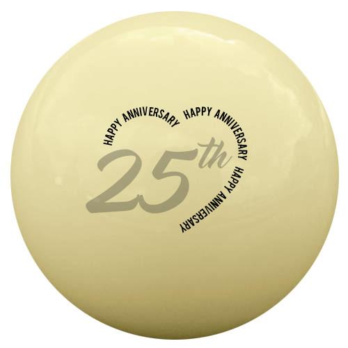 Happy Anniversary Cue Ball