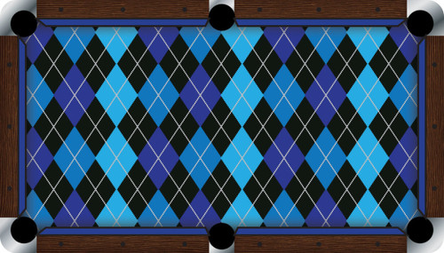 Vivid Argyle 7'/8' Pool Table Felt