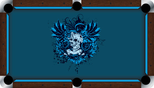 VIVID Dangerous 9' Pool Table Felt