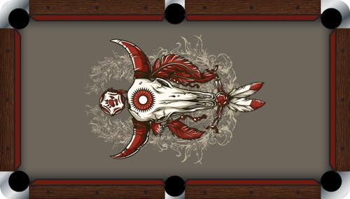 VIVID Sacred Bull 7'/8' Pool Table Felt