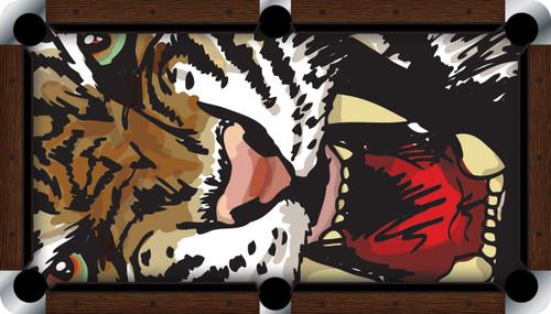 VIVID Roaring Tiger 9' Pool Table Felt