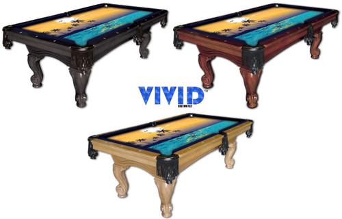 VIVID Paradise 7'/8' Pool Table Felt