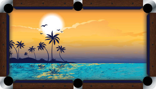 VIVID Paradise 7'/8' Pool Table Felt