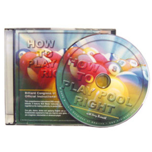 """""""How to Play Pool Right"""" DVD"""