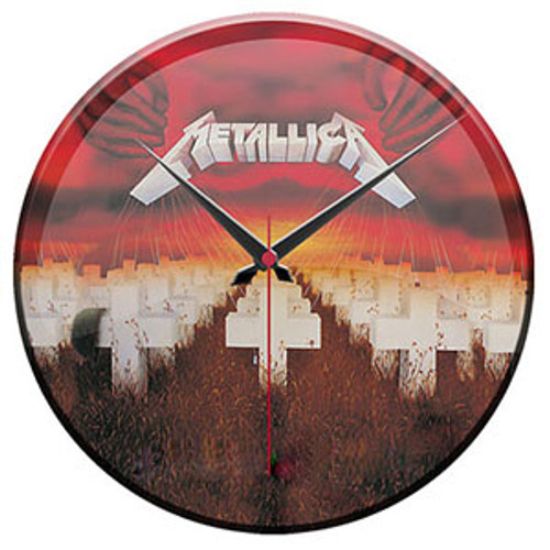"Metallica ""Master Of Puppets"" Wall Clock"