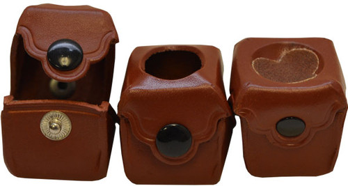 Deluxe Brown Chalk Holder with Scuffer