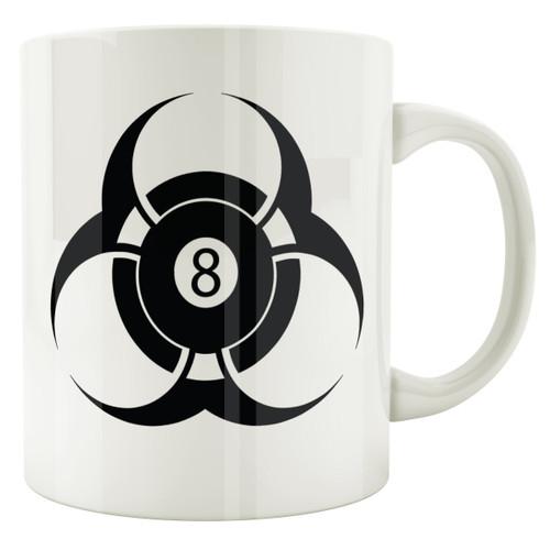 Biohazard 8-Ball Coffee Mug