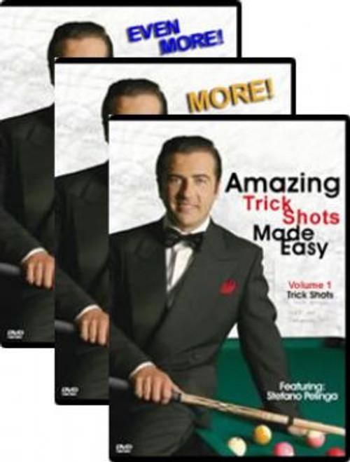 Amazing Trick Shots Made Easy - 3 DVD Set