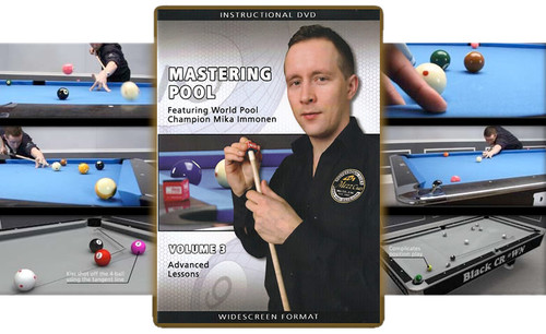 Mastering Pool featuring World Pool Champion Mika Immonen Volume 3