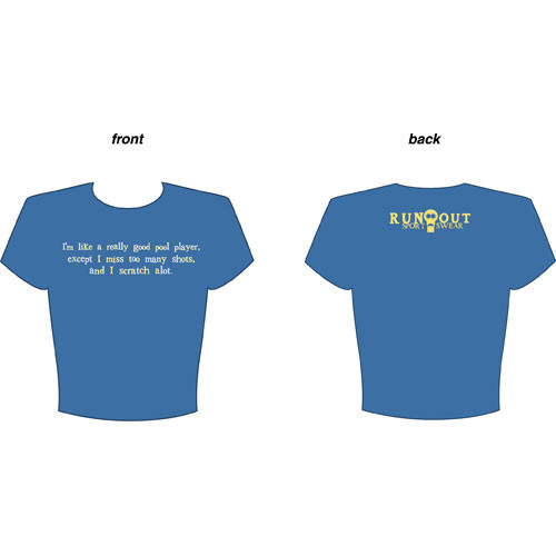 """Scratch A Lot"" T-Shirt, Blue"
