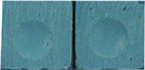 Silver Cup Pool Cue Chalk, Blue 2-Piece Pack