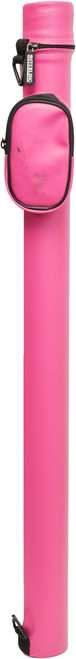 Scratch and Dent Sterling Round Pink Cue Case for 1 Cue