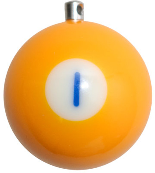 Billiard Ball Christmas Tree Ornaments - #1