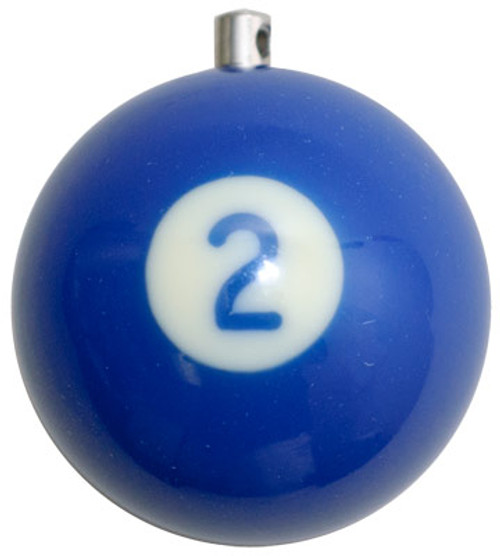 Billiard Ball Christmas Tree Ornaments - #2
