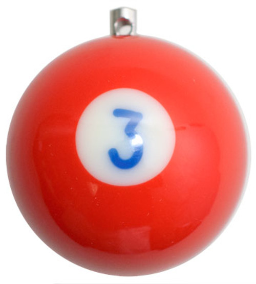 Billiard Ball Christmas Tree Ornaments - #3