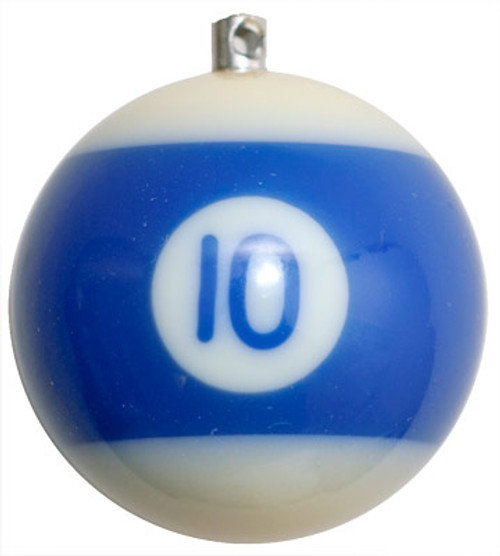 Billiard Ball Christmas Tree Ornaments - #10
