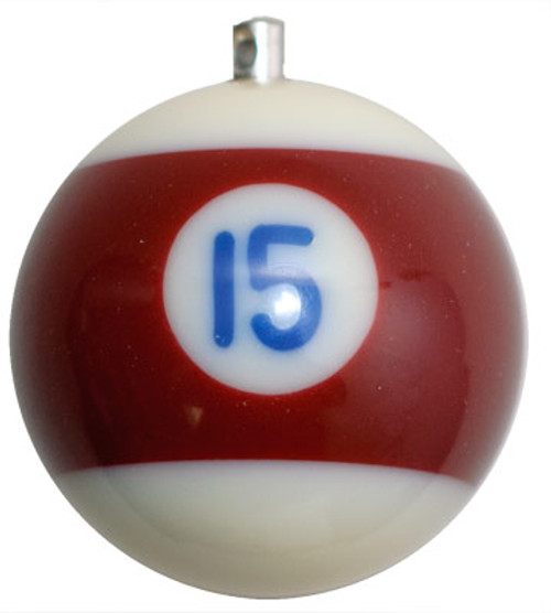 Billiard Ball Christmas Tree Ornaments - #15
