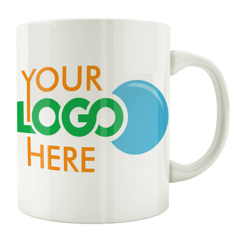 Custom Logo Photo 11oz. Coffee Mug