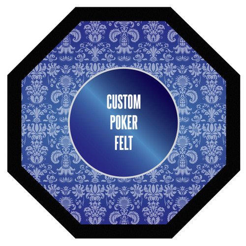 Vivid Custom Poker Table Felt Custom Size