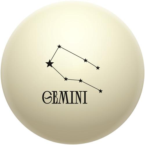 Astrological Constellation: Gemini Cue Ball