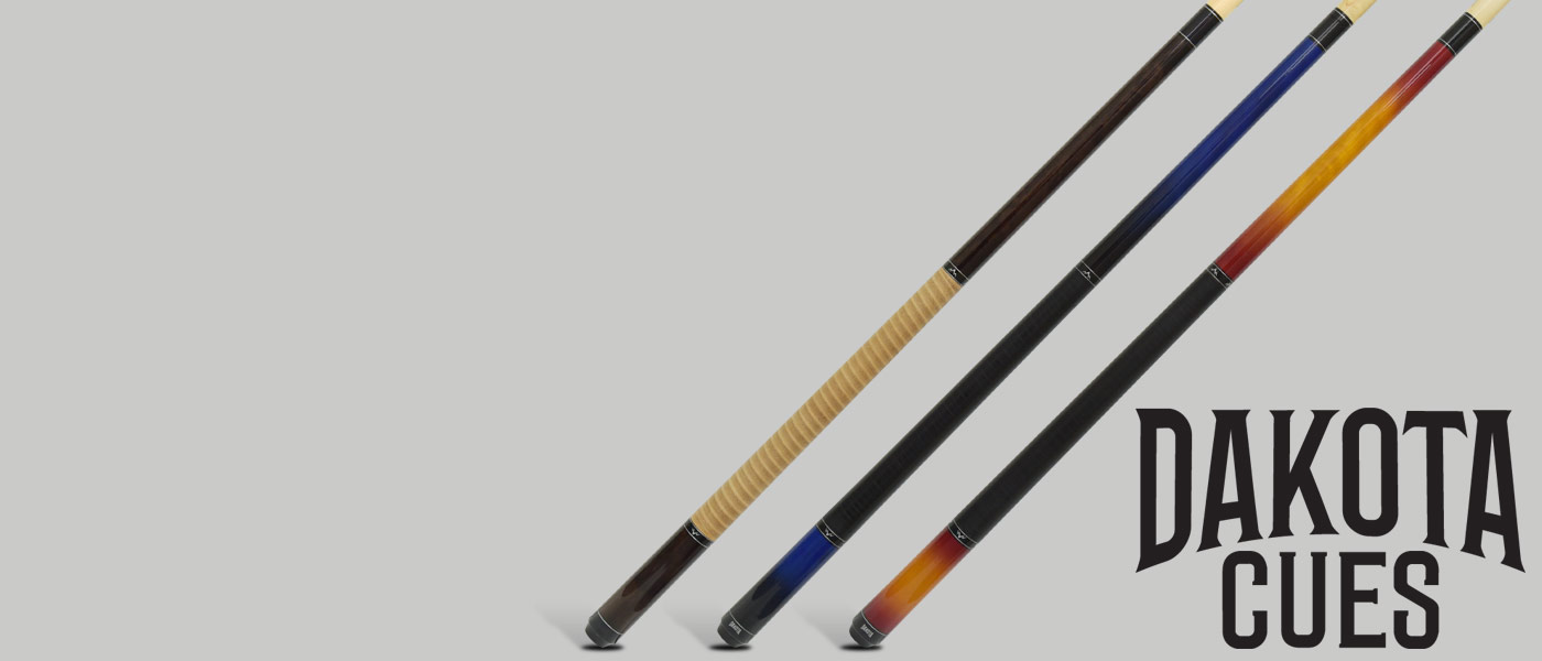 Shop our brand new line of Dakota Pool Cues