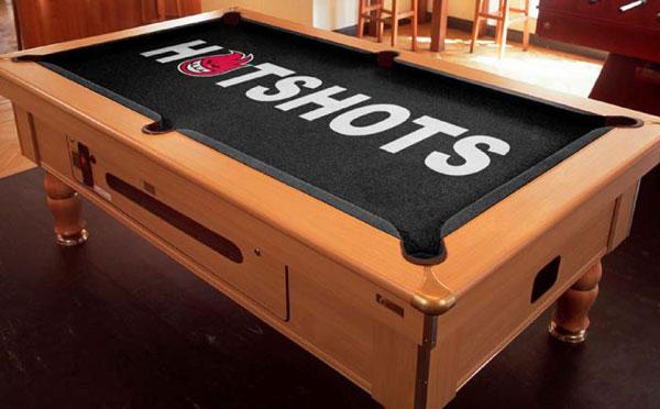 Custom Pool Table Felt - Hotshots