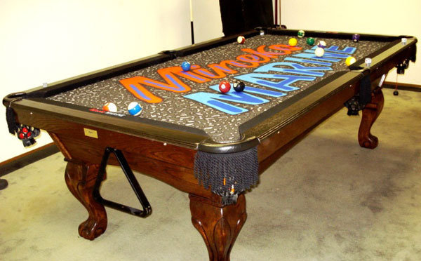 Custom Pool Table Felt