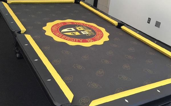 Custom Pool Table Felt - Ottawa University
