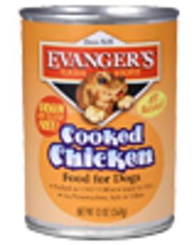 Evanger's Classic Recipes - Cooked Chicken, Food for Dogs, 13 oz. can