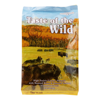Taste of the Wild High Prairie Canine Formula with Roasted Bison & Roasted Venison (Choose Size)