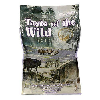 Taste of the Wild Sierra Mountain Canine Formula with Roasted Lamb (Choose Size to View Price)