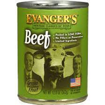 Evanger's Classic Recipes - Beef, Food for Dogs, 13 oz. can