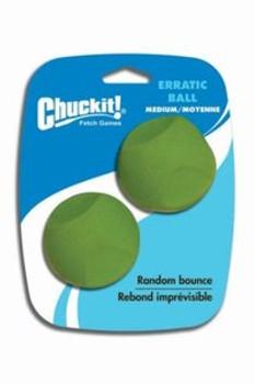 Chuckit Erratic Ball (2 pack), Med