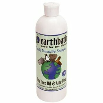 Earthbath Tea Tree and Aloe Shampoo (16 oz)