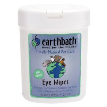 Earthbath Eye Wipes (25 ct)