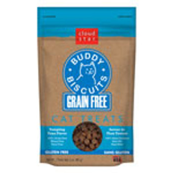 Buddy Biscuits Grain Free Soft Cat Treats - 3 oz (choose Flavor)