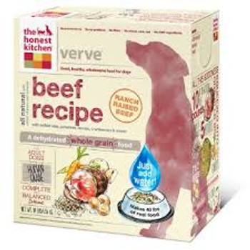 Honest Kitchen Whole Grain Verve Beef Dog Food  (Choose Size to View Price)