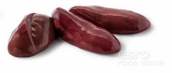 Pork Kidney, FULL CASE - weights vary - (per lb.)