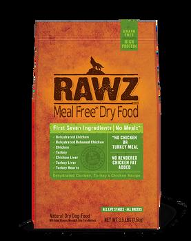 Rawz Chicken Turkey Dog Food (Choose size to view price)
