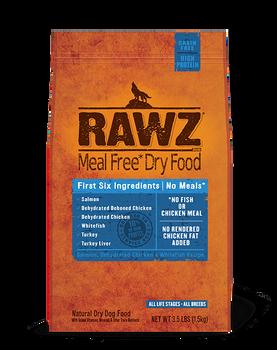 Rawz Salmon, Chicken, Whitefish Dog Food (Choose size to view price)