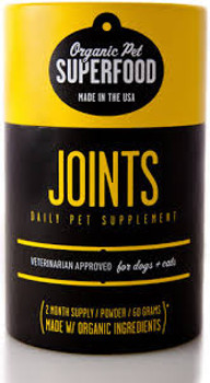 Organic Pet Superfood Joint Supplement, 60 grams