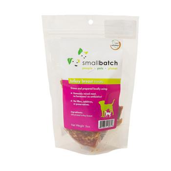 Small Batch Freeze Dried Turkey Heart Treats, 3.5 oz.