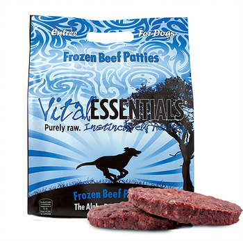 Vital Essentials Raw Beef Patties, 6 lbs.