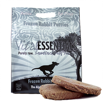 Vital Essentials Raw Rabbit Patties, 6 lbs.