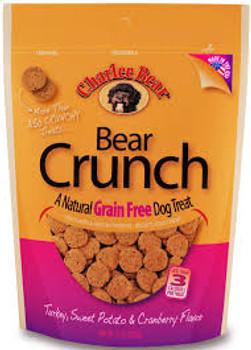 Charlee Bear Grain Free Turkey/Sweet Potato/Cranberry Dog Treats, 8 oz.