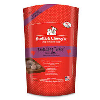 Stella & Chewy's Tantalizing Turkey Raw Frozen Dinner for Dogs (Choose Size to View Price)