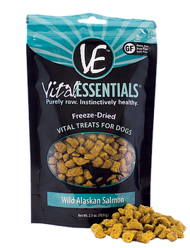 Vital Essentials Wild Alaskan Salmon Treats, 2.5 oz.