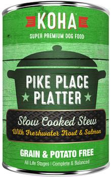 Koha Pike Place Platter Stew Dog Food, 12.7 oz.