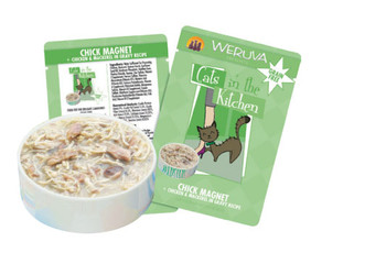 Weruva Cats in the Kitchen - Chick Magnet Cat Food Pouch, 3.0 oz.